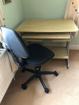 Desk and Chair in Lakenheath, UK