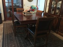 Dining table with four chairs in Fort Leonard Wood, Missouri