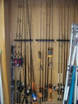 Fishing Poles in Fort Polk, Louisiana