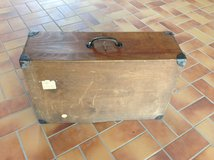 Wooden Suitcase with Key (super decorative) in Ramstein, Germany