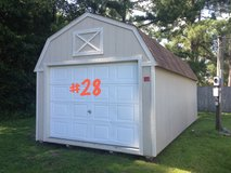 PREOWNED 12x24 Lofted Garage Shed Storage Building in Valdosta, Georgia