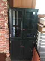 Over 100 yr old dish or pie cabinet in Fort Polk, Louisiana