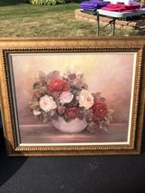 Floral painting in Wheaton, Illinois