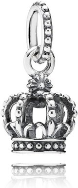 Pandora Crown Charm Pendant in Ramstein, Germany