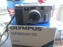 Olympus Superzoom 90, in Barstow, California