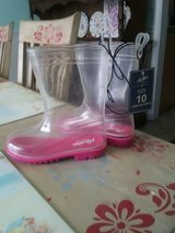 Girls toddler size 10 rainboots in Cherry Point, North Carolina