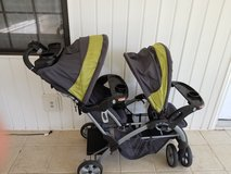 Baby trend sit and stand double stroller in Warner Robins, Georgia