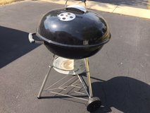"Weber 22"" charcoal grill in Morris, Illinois"