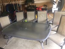 Patio table and chairs in Morris, Illinois