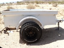 1950's Jeep trailer in Yucca Valley, California