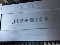 Brutus Hifonics Amplifier Brz1200.1D1200Watts Super D Class in Lockport, Illinois