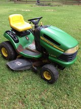 "John Deere 42"" Mower & Cart in Coldspring, Texas"