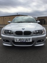 2003 BMW M3 E46 in Lakenheath, UK