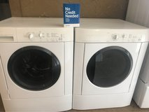 Frigidaire washer and dryer in Kingwood, Texas