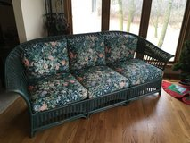 Rattan Sofa Couch - Beautiful in Brookfield, Wisconsin