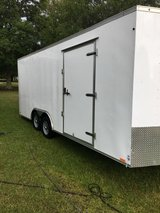 2016 Cargo Trailer, 20 x 8 x 8 in Fort Polk, Louisiana