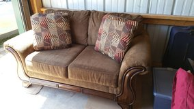 Almost new couch and loveseat. in Sugar Grove, Illinois