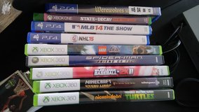 Xbox 360, PS4 and Xbox one games for sale in Fort Polk, Louisiana