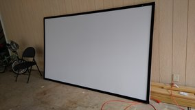 110'' Projector Screen with fixed black frame in Leesville, Louisiana