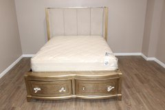 Queen size Bed frame including mattress in CyFair, Texas