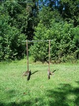 FREE Clothes stand for yard sales in Moody AFB, Georgia