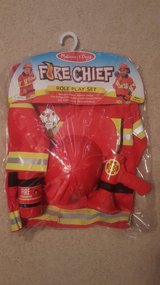 NEW!!! Fireman Outfit Costume 4t-6t in Bartlett, Illinois