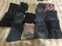 girls size 10-12 jeans in Liberty, Texas