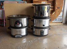 YOUR CHOICE OF SLOW COOKERS OR CROCK POT in Bartlett, Illinois