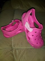 Girls croc shoes in Fort Campbell, Kentucky