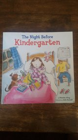 Night Before Kindergarten & other Kid's Books in 29 Palms, California
