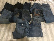 girls size 14-16 jeans in Liberty, Texas