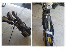 Golf Clubs-Jr set by Hagen in Naperville, Illinois
