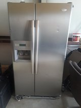 Stainless Steel Whirlpool Refrigerator W@W!! in Kingwood, Texas