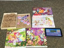 set of puzzles and educational tablet in Okinawa, Japan