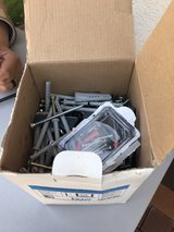 Box of assorted screws in Ramstein, Germany