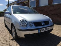 VW POLO SE AUTOMATIC 5 DOOR 2003 in Lakenheath, UK
