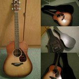 Yamaha Acoustic Guitar with Cases in Stuttgart, GE