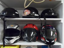 HELMETS $25-38 (red one is sold) in Cherry Point, North Carolina