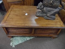 COFFEE TABLE WITH STORAGE (HINGE TOP) in Cherry Point, North Carolina