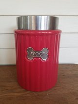 Dog treat canister in Chicago, Illinois