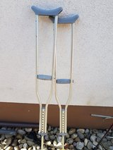 ** crutches ** in Ramstein, Germany