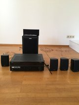 Yamaha Receiver and surround sound speakers in Ramstein, Germany