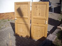 2 pinewood doors in Ramstein, Germany