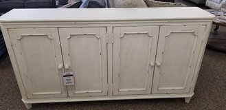 ANTIQUE WHITE CABINET in Cherry Point, North Carolina