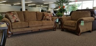 20% OFF SOFA AND CHAIR SET in Cherry Point, North Carolina