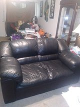 Black Loveseat in Beaufort, South Carolina