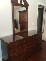 Dresser with mirror in Beaufort, South Carolina