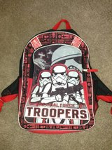 Star Wars Stormtrooper Backpack in Bolingbrook, Illinois