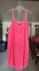 TORRID SIZE 4 LACE/CHIFFON SUNDRESS / SWING DRESS  BEAUTIFUL! in Naperville, Illinois