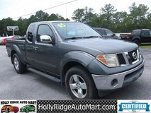 2005 Nissan Frontier King Cab LE 4wd in Camp Lejeune, North Carolina